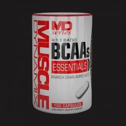 ESSENTIAL BCAA 4 1 1 RATIO / 100 CAPSULES.