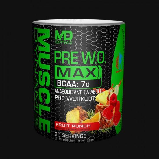 PRE W.O. MAX 510g - 30 servings